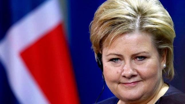 Erna Solberg, Partido Conservador