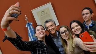 """""""Movilizarse es una pérdida de tiempo, no lleva a ningún lado"""", aseguró Macri"""