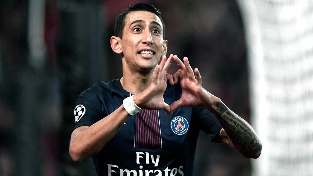 Di María cumplió 200 partidos en el París Saint Germain
