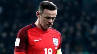 Rooney anunció su retiro del seleccionado de Inglaterra