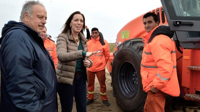 Vidal anunció la segunda calzada en las rutas 11 y 56