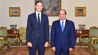 El asesor de la Casa Blanca se reunió con Al Sisi para revivir las charlas de paz