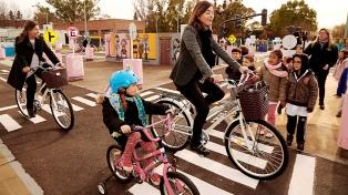 La Ciudad inauguró un parque recreativo para que alumnos porteños aprendan sobre seguridad vial