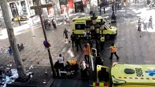 Subieron a 16 las víctimas del atentado a Barcelona