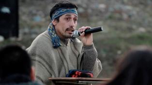 Jones Huala levantó la huelga de hambre