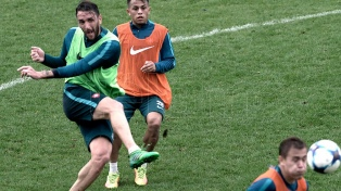 Salazar será titular y también podría regresar Merlini en San Lorenzo