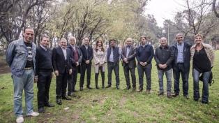 Cristina Kirchner se mostró junto a intendentes en Lomas de Zamora