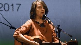 Cecilia Todd cerró una mágica noche del Encuentro de Músicos
