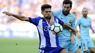 Con tres goles de Messi, Barcelona derrotó al Espanyol por 5 a 0
