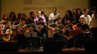 La apuesta multiplicadora de Don Olimpio mostró el espíritu del Encuentro Nacional de Músicos