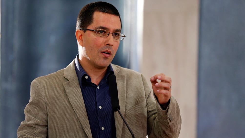Jorge Arreaza, Canciller Venezuela