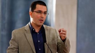 Jorge Arreaza, ministro de Asuntos Exteriores de Venezuela