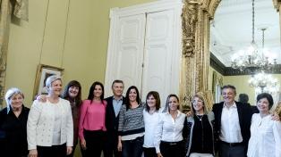 Macri recibió a mujeres que conducen PyMEs bonaerenses