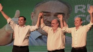 Colombi presentó a los candidatos de la fórmula Eco+Cambiemos para la gobernación