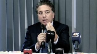 Dujovne participó en la Junta de Gobernadores del FMI y del Grupo Banco Mundial