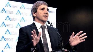 """Caputo afirmó que la Argentina """"será estrella de la región"""" en las próximas décadas"""