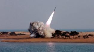 El Ministerio de Defensa probó con éxito un sistema contra misiles de largo alcance