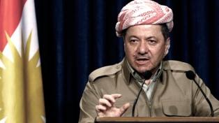 En medio de la crisis con Bagdad, el presidente kurdo anunció que dejará su cargo