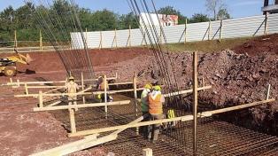 En octubre, la construcción creció 25,3% interanual y la industria 4,4%