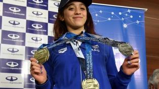 """Delfina Pignatiello: """"Ser campeón del mundo es un sueño"""""""