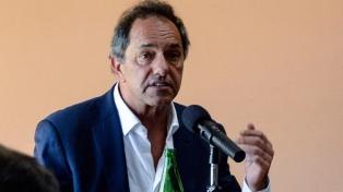 """Scioli: Unidad Ciudadana """"es la columna vertebral"""" del electorado peronista"""