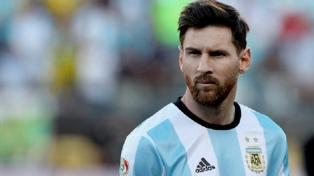 Messi se incorporó a la concentración en Manchester