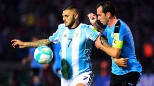 Argentina y Uruguay empataron en un clásico trabado y disputado