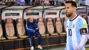"""Hubo distintos """"nueves"""", pero un solo goleador: Messi"""