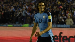"""Neutralizamos muy bien a Argentina"", dijo Edinson Cavani"