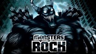 Megadeth, Anthrax y Rata Blanca en el regreso del Monster of Rock