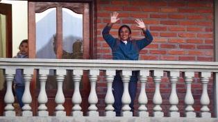 """Milagro Sala, presa en su casa, se quejó por radio: """"Ni los genocidas tienen tanta seguridad como yo"""""""