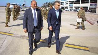 Macri y Manzur olvidaron diferencias durante la campaña y se cruzaron elogios
