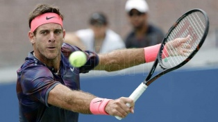 Del Potro le ganó a Bautista Agust y avanza en el US Open