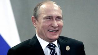 Putin lidera con el 71,4% los sondeos para las presidenciales