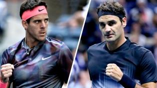 Del Potro y Federer jugarán una exhibición en Buenos Aires en noviembre