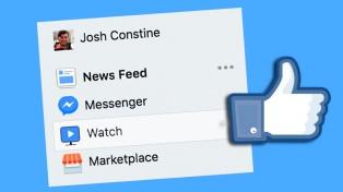 Facebook oficializó en Estados Unidos su nuevo portal de videos