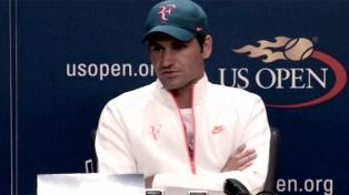 """Roger Federer dijo que Del Potro """"jugó como un león"""""""