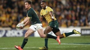 Sudáfrica, próximo rival de Los Pumas, subió al cuarto lugar