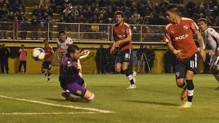 Olimpo se lo empató a Independiente en Bahía Blanca