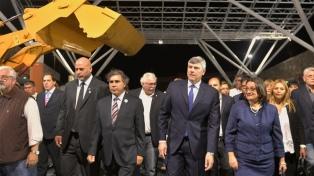 Corpacci y el ministro Buryaile presidieron la Expo Productiva 2017