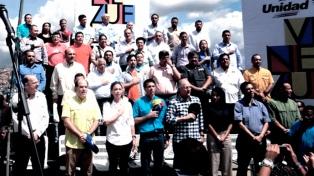 La oposición venezolana eligió en primarias a sus candidatos a gobernadores para octubre