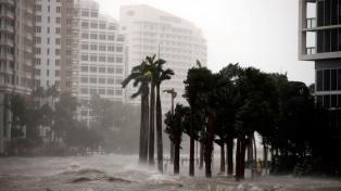 """Antes y después de """"Irma"""": las imágenes satelitales que muestran su furia"""
