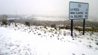 Persiste la intransitabilidad en la ruta de las altas cumbres de Córdoba por frío y nieve