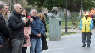Rodríguez Larreta inauguró el nuevo paseo Tribunales Peatonal en el centro porteño