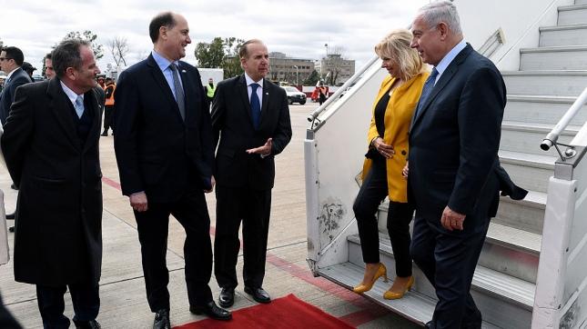 Resultado de imagen para cortes visita de netanyahu