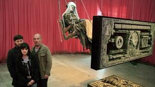 Un monstruo de tres cabezas: el grupo Mondongo y los 200 dibujos que realizó junto a Sergio Bizzio
