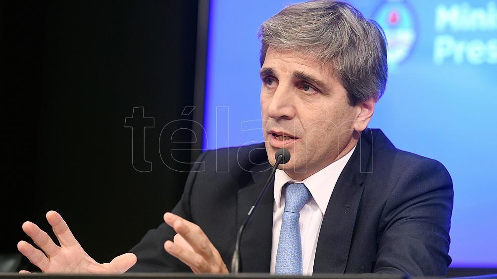 Caputo informará sobre deuda pública y off shore en el Senado