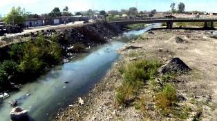 Detectan contaminación con metales pesados en las aguas del río Arenales