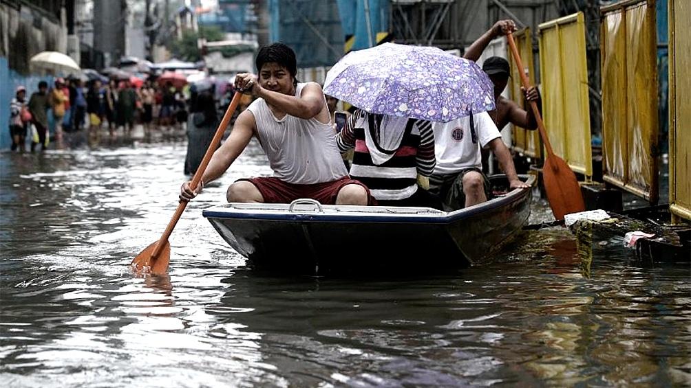 Tormenta tropical en Filipinas deja alrededor de 90 muertos