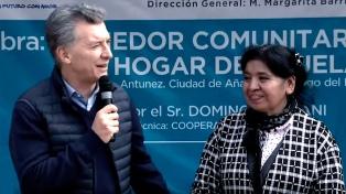 """Macri: """"Solo poniendo la verdad sobre la mesa, se comienzan a corregir los problemas"""""""